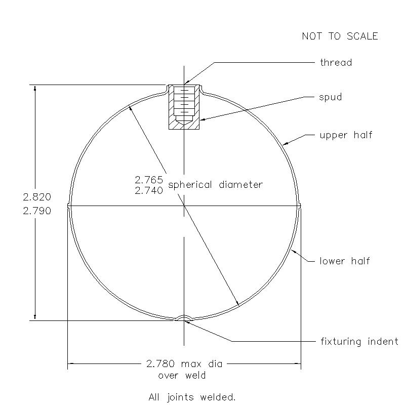 51800 Female Thread 2.805 (H)